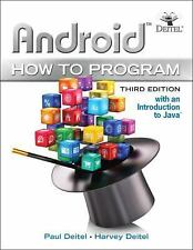 Android How to Program by Paul Deitel Paperback Book (English)