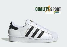 Adidas Superstar Bianco Nero Donna Shoes Scarpe Sportive Sneakers FU7712 2020