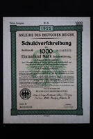 Germany 1922 Intact Registered Bond