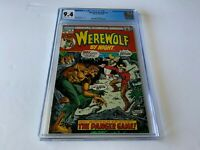 WEREWOLF BY NIGHT 4 CGC 9.4 MIKE PLOOG MARVEL COMICS 1973