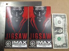 (Lot of 2) JIGSAW IMAX Collectible Tickets Regal