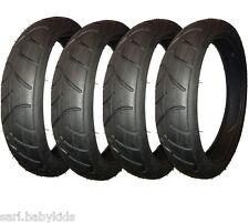 4 pneus 12x2,50-9 - pneu 12 x 2.50-9 - pneu 12x2,50-9 - diamètre du pneu 30 cm