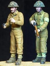 1/35 scale resin model kit WW2 British Home Guard Patrol (2 Figs)