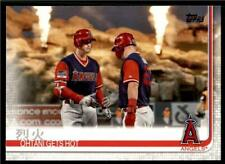 2019 Topps Series 2 Base #367 烈火 Ohtani Gets Hot Los Angeles Angels