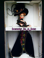 "MASQUERADE BALL Barbie Doll Designer Bob Mackie Illustration Mask NRFB """