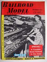 December 1955 RAILROAD MODEL Craftsman Magazine