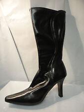 Worthington Black Heeled Fashion Calf Boots Women's Size 9M