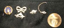 Lot of Masonic Rhinestone Pins and a Shriner Token