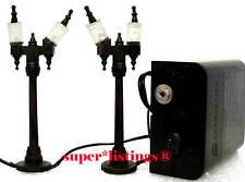 Dept. 56 Halloween Street Lamps Set of 2 Retired 2012 Halloween 810795