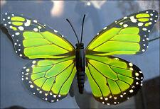 Bulk Lot x 20 Butterflies on Sticks Decor Girls Parties Novelties New