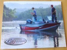 2014 G3 Bass Fishing Boat Catalog Brochure Book Angler Eagle Bay Guide Jonboats