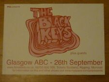The Black Keys - Glasgow sept.2006 tour concert gig poster