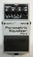 BOSS PQ-4 Parametric Equalizer Guitar Effects Pedal 1995 #58 Free Shipping