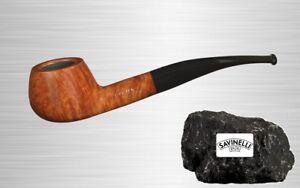 SAVINELLI SIENA 315 Half-Bent – Prince Bruyere Pfeife 9mm Filter - aus Italien