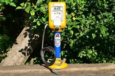Handmade Tin Gilmore Gasoline Red Lion Model Bank - Gas Station - Air Compressor