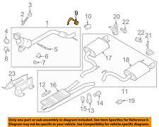 FORD OEM 15-18 Mustang 2.3L-L4-Exhaust Bracket FR3Z5A242B