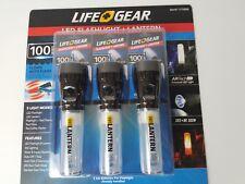 Life+Gear LED Flashlight & Lantern 100 Lumens 5 Modes Auto-Flash in Water 3 Pk 2