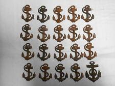 convoluzione 20 vecchio rame ANCORA BASE PER PARTI spalla Marine Marina Militare