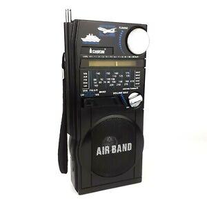 Steepletone SAB9 Marine and Airband FM/MW/LW Radio Vintage 1980s