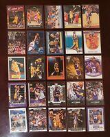 Kobe Bryant Jordan LeBron McGrady Iverson 25 NBA Card Lot Topps, Donruss, Fleer