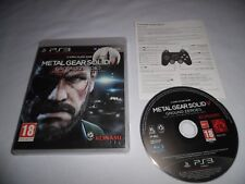Jeu Playstation 3 - Metal Gear Solid V Ground Zeroes - PS3