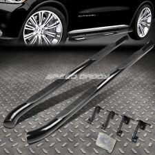 "FOR 11-18 DODGE DURANGO BLACK CARBON STEEL 3"" SIDE STEP NERF BAR RUNNING BOARD"