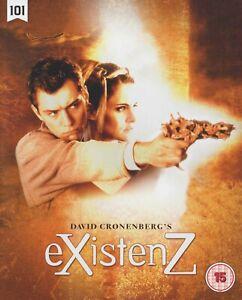 EXISTENZ (1999) dir: David Cronenberg / Blu-ray / 101 Films / Mint, as new