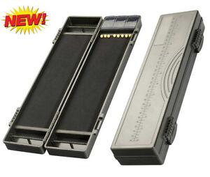 Stiff Rig Box 34cm inkl. 30 Pins Vorfächer Rigtasche Rigboard Rig Karpfen Carp