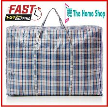 XXL Strong Extra Large Reusable Shopping Storage Jumbo Laundry Bag With Zip