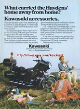 Kawasaki Accessories Motorcycle 1979 Magazine Advert #1901