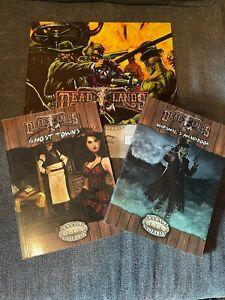 Deadlands RPG Lot Savage Worlds
