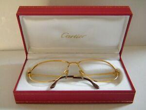 Cartier Panthere 1988 Vintage Eyeglasses Gold Plated Frame