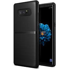 Galaxy Note 8 VRS® Ultra Light Fit Slim Thin Soft Rubber Matte Black Case Cover