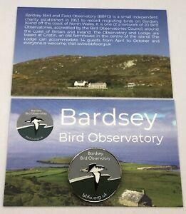 Bardsey Bird Observatory Pin Badge - Enamel Pin Badge - RSPB interest