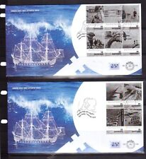 NETHERLANDS 2003 set on two FDC