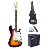 New Pyle PEGKT15SB Beginner Electric Guitar Package