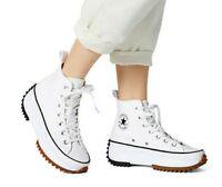 Converse Run Star Hike Hi - White / Black / Gum - Sizes 3-11UK 166799C