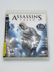 Original ASSASSIN'S CREED Game Complete in Case w/ Manual Sony PlayStation 3 PS3