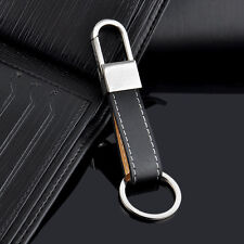 Fashion Creative Men's Leather Strap Keyring Keychain Key Chain Ring Keyfob Gift