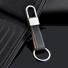 Mode Créative Pour Hommes Lanière En Cuir Porte-clé Porte-clés Anneau Cadeau