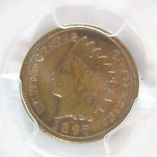 1897 Indian Cent  PCGS MS 64 RB Cert# 26243275