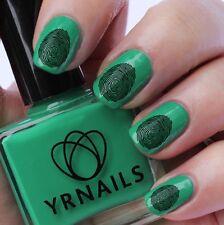 Nail WRAPS Nail Art Water Transfers Decals - Fingerprint Your Nail Art  - S020