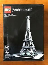 Lego Architecture #21019 - The Eiffel Tower - 321 Pieces - New in Box/Mint Unope