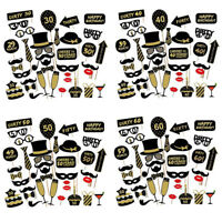 Happy 21st 30th 40th 50th 60th Birthday Photo Booth Props Party Selfie Kit DIY