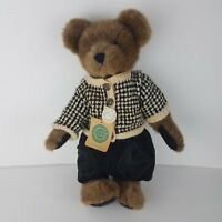 """1997 Boyds Bears RUTHERFORD Bear #912610 Plush w/Tags 16"""" EUC 1990s Vintage Toy"""