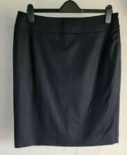 T.M.Lewin Womens Melissa Navy Stretch Skirt, Size14