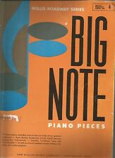 Willis Roadway Series No 4 Big Note Piano Pieces PB 1963