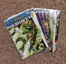 Hal Jordan And The Green Lantern Corps Rebirth issue and 1-9