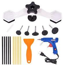 Car Body Dent Repair Kit Dent Puller Tool  with Hot Melt Glue Gun Glue Sticks