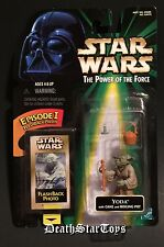 Star Wars POTF2 Episode I FlashBack Photo Jedi Yoda Empire Strikes Back ESB POTF